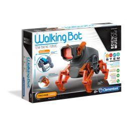 Konstruktorius: vaikštantis robotas