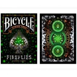Bicycle Fireflies Cards