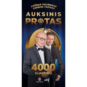 """Knyga """"Auksinis protas. 4000 klausimų"""""""