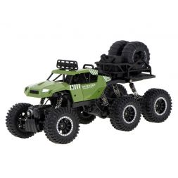 6X6 Crawler Pick-Up (Green)