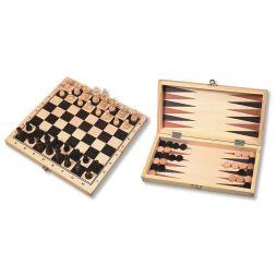 Šachmatų - nardų rinkinys 29cm