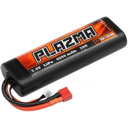 HPI Plazma 7.4V4000mAh20CLipo Round Case StickPack