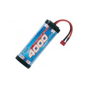 LRP Hyper Pack 4000 US style - 7.2V - 6-cell NiMH Stickpack