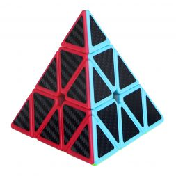 Rubiko kubas Carbon Fiber Pyraminx