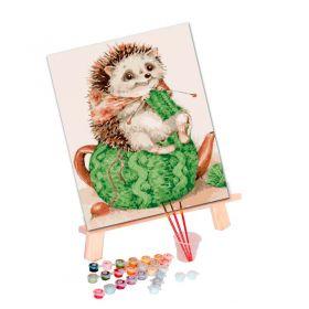 Tapypos rinkinys (20x30): Hedgehog is cozy