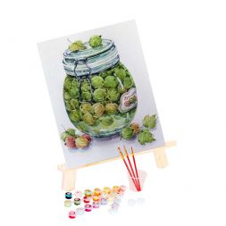 Paint by Numbers (20x30): Gooseberry Jam