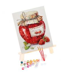 Paint by Numbers (20x30): Strawberry Jam