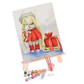 Tapypos rinkinys (30x40): Doll Elsa