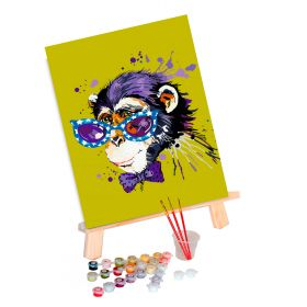 Paint by Numbers (30x40): Stylish Monkey