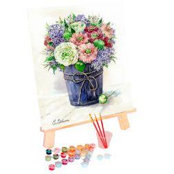 Tapypos rinkinys (40x50): Lilac tenderness