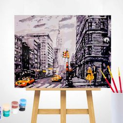 Paint by Numbers (40x50): Capital City
