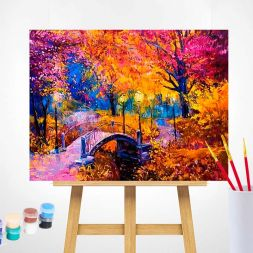 Paint by Numbers (40x50): Autumn Colours