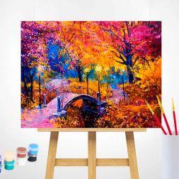Tapybos rinkinys (40x50): Autumn Colours