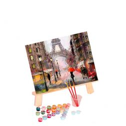 Paint by Numbers (40x50): Paris in the Rain