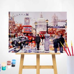Paint by Numbers (40x50): London Street