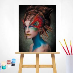 Paint by Numbers (40x50): Masquerade