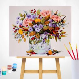 Paint by Numbers (40x50): New Autumn bouquet
