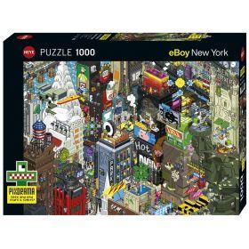 "Heye Puzzle ""New York Quest"" 1000 pcs"