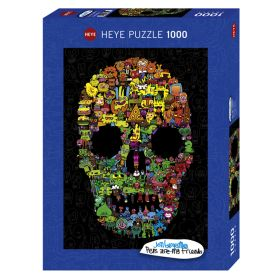 """Heye Puzzle """"Doodle Skull"""" 1000 pcs"""