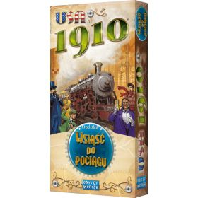 Ticket to Ride USA Expansion: 1910 (PL)