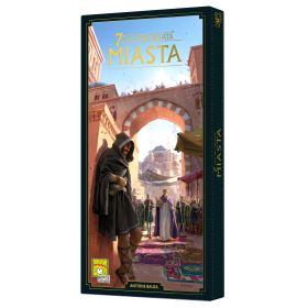 7 Wonders: Cities Exp. Second Ed. (lenkų kalba)