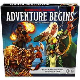 Dungeons and Dragons The Adventure Begins (anglų kalba)