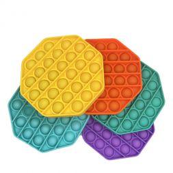 Antistresinis žaislas POP IT (aštuonkampis)
