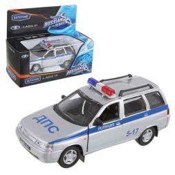 Diecast Model Car 1:36 Lada 111 Police