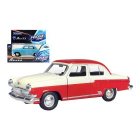Diecast Model Car 1:43 Volga GAZ-21 Two-colored