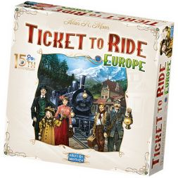 Ticket to Ride: Europe – 15th Anniversary (LT)