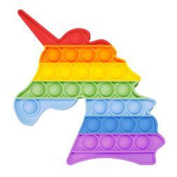Antistress toy POP IT (rainbow unicorn)