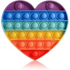 Antistresinis žaislas POP IT (sp. širdelė)
