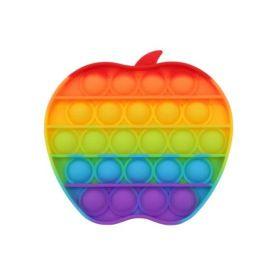 Antistress toy POP IT (rainbow apple)