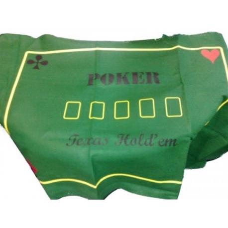 Poker Tablecloth Texas Hold'en 180 X 90 cm