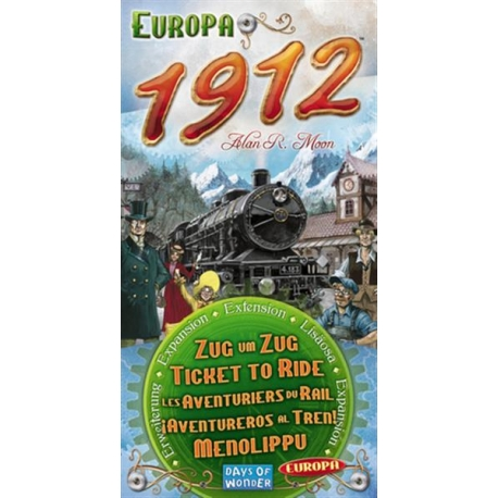 Ticket to Ride: Europa 1912 expansion (EN)