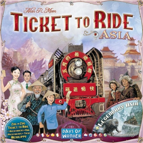 Ticket to Ride papildymas: Asia