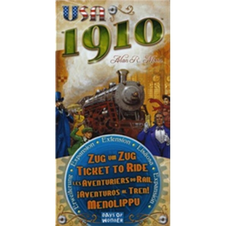 Ticket to Ride USA Expansion: 1910